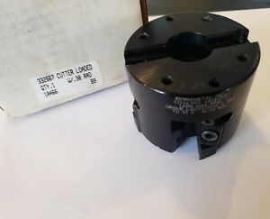 Kennametal Kenloc 3 Indexable Shell Mill 1 Arbor