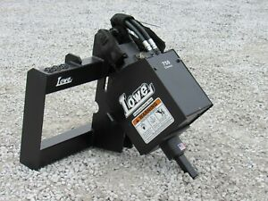 Bobcat Skid Steer Attachment Danuser Ep 6 Hex Auger Drive Unit Ship 199