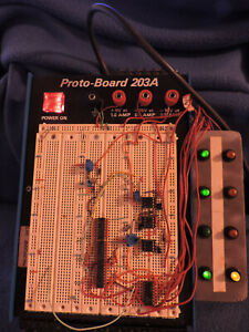 Global Specialties Proto board 203a 15 Volt With Light Panel Add on