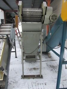 Large Universal Parts Or Chip Conveyor 16 W exit Height 77