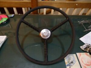 1956 1960 Ford Pickup Truck Steering Wheel F100 Used Delivery Panel Van