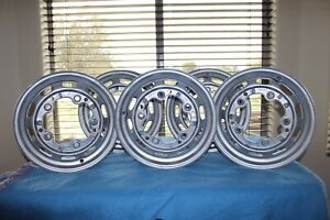 Porsche Steel Sudrad Rims 356a Wheels Dated 12 56