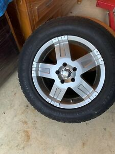 4 Snow Tires Mounted And Balanced 235 65r17 General Altimax Arctic