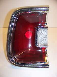 1967 Plymouth Barracuda Lh Taillight Oem 2906793