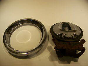 1964 1965 1966 Chrysler Imperial Gas Cap Cover Trim Ring Oem 2404736