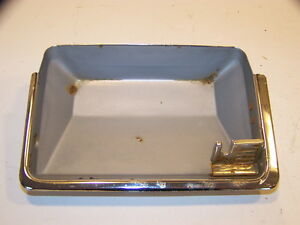 1968 Chrysler Imperial Ashtray Receptacle Lebaron Crown Coupe 67