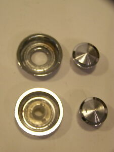 1968 Chrysler Imperial Radio Knobs Washers Lebaron Crown Coupe