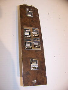 1971 Chrysler Imperial 2d Ds Window Lock Master Controls 2878541 Lh
