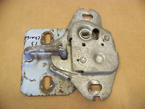 1973 Dodge Charger Trunk Latch Catch 71 72 74