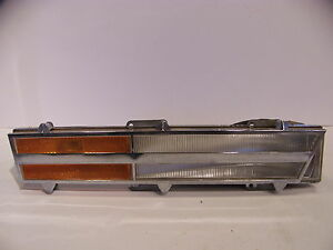 1972 Chrysler Imperial Front Turn Signal Assembly Lh Oem Lebaron