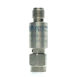 Midwest Microwave Att 0263 10 sma 02 Fixed 10db Attenuator Dc 18ghz