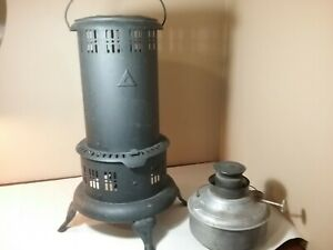 Antique Vintage Metal Perfection Kerosene Heater Model No 525 With Wick And Font