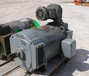 40 Hp Dc General Electric Motor 1750 Rpm 328at Frame Dpfv 500 V New