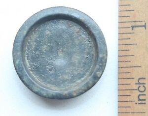 Antique Balance Platform Or Barn Scale Weight 6 Mark