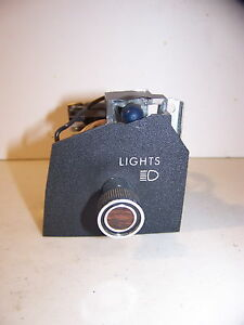 1976 Chrysler Dodge Plymouth Headlight Switch 3747189 New Yorker 77 78 79