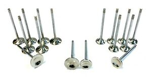 Obx Racing Stainless Steel Alloy Intake Exhaust Valve Set For B16 B17 B18