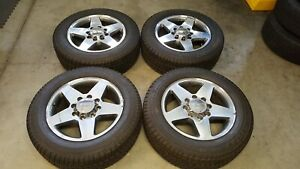 Gmc Chevy Oem 20 Wheels And Tires Hd 2500 3500 Truck Sierra Silverado
