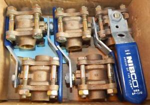 5 Nibco 1 2 Bronze Ball Valve S 595 y 600 Cwp new Other Ts1