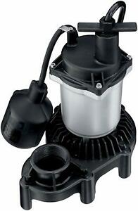 Flotec Fpzs33t Submersible Sump Pump With Tethered Float Switch
