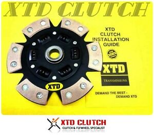 Xtd Stage 3 Ceramic Clutch Disc 98 02 Toyota Altezza 2 0l Rs200 Sxe10 3sge 6spd