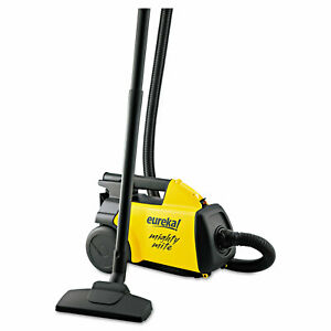Eureka Lightweight Mighty Mite Canister Vacuum 9a Motor 8 2 Lb Yellow 3670