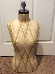 Vintage Seamstress Mannequin Torso Dress Form