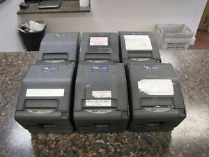 Lot Of 6 Star Micronics Tsp700 Pos Thermal Receipt Label Printers