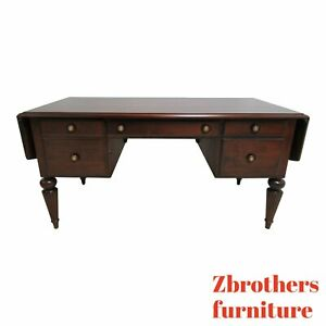Ethan Allen British Classics Marshall Drop Leaf Writing Office Desk