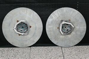 Lot Of 2 Used 15 Pad Drivers Floor Buffer