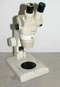 Olympus Sz 30 Stereozoom Microscope 9 40x On Desktop Stand