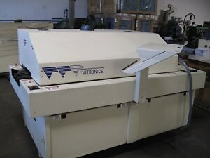 Vitronics Isotherm 500s Reflow Oven 5 Zone 64 In Tunnel 2 Available