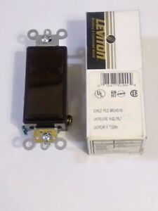 Leviton 5621 2 Decora Plus Rocker Switch Brown lot Of 10
