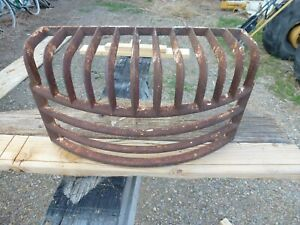Very Cool Vintage Rat Rod Custom Cast Iron Grille