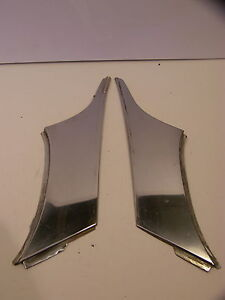 1955 Chrysler 4 Door Roof Pillar Trim New Yorker Windsor Deluxe