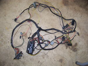 1965 Plymouth Satellite Under Dash Wiring Harness Oem Belvedere I Ii
