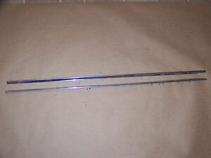 1968 Chrysler Imperial 4d Front Door Trim Lebaron Crown Coupe Ghia