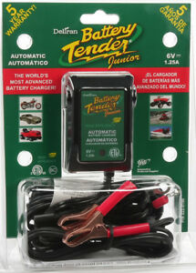 Battery Tender Junior High Efficiency 6v 1 25a 022 0196