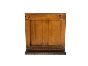 Antique Kimball Organ Wood Panel Salvaged Architectural Parts Rustic Book Stand