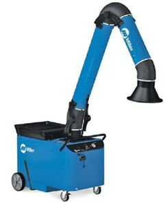 Miller Filtair Mwx s Mobile Weld Fume Extractor Self Cleaning W 10ft Arm
