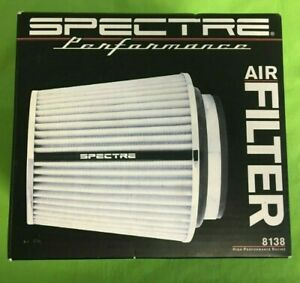 Spectre Performance Universal Cone Air Filter 8138 3 3 5 4