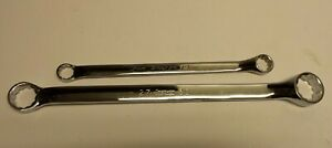 Lot Of 2 Snap On 27mm 30mm Xbm2730 Metric Chrome Wrench Xbm1719a 17mm 19mm