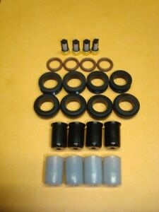 Mazda Rx7 13b Rotary Fuel Injector Seal O Ring Filter Pintle Cap Kit
