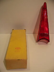 1957 Plymouth Fury Sport Fury Belvedere Taillight Lens Nos Glo brite