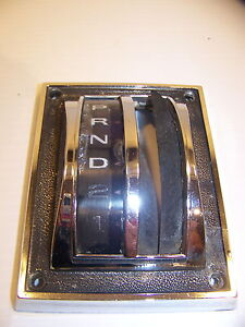 1967 68 69 Ford Mustang C7za 7eo34 C Automatic Shifter Selector Bezel