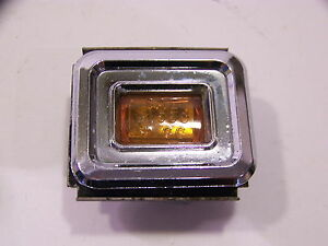 1968 Chrysler Imperial Amber Side Marker Cornering Light Turn Signal Oem Lebaron