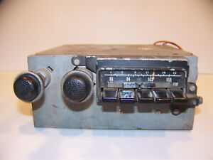1971 Plymouth Road Runner Dodge Charger Am Fm Radio Oem 3501014