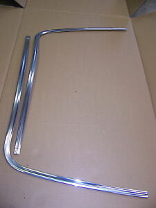 1973 Dodge Charger Front Window Trim Oem