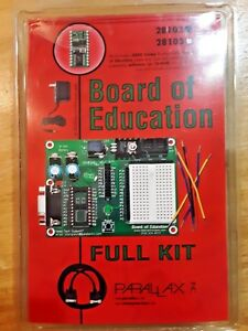 Parallax Board Of Education Full Kit Basic Stamp 2 Micro Controller Kit 28102