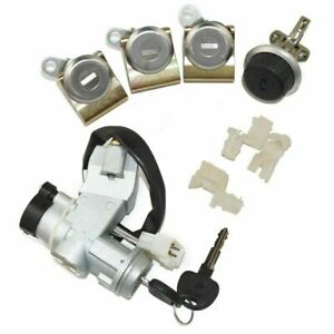 Ignition Switch Steering Door Glove Box Lock Set Suzuki Sj410 Sj413 Samurai