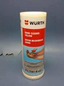 New Wurth 893 93401 Hand Cleaner Yellow 3l Free Shipping